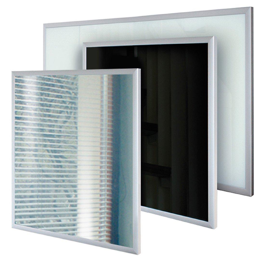 Heizpaneel Glas mit Rahmen